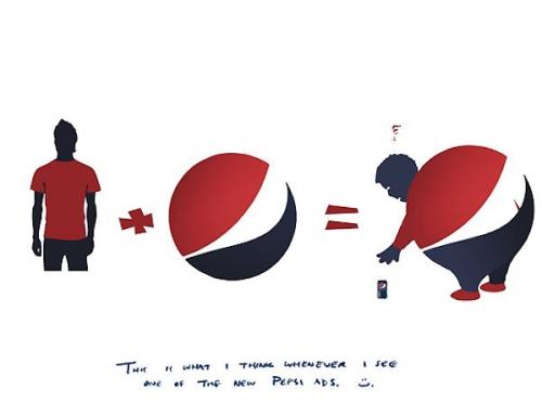 Die Sache mit dem Pepsi Logo