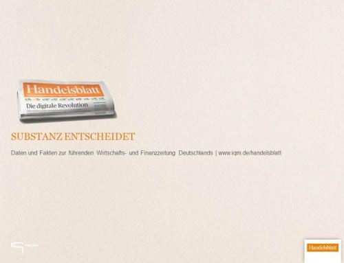 Handelsblatt – Substanz entscheidet