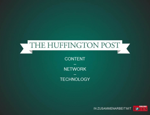 The Huffington Post: Content – Network – Technologie