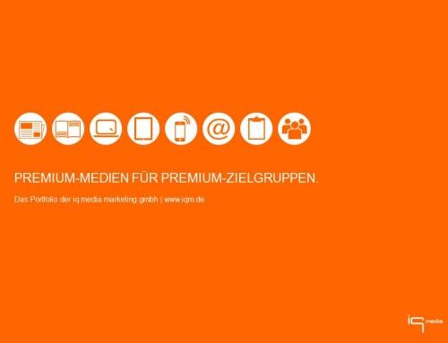 Premium-Medien für Premium-Zielgruppen