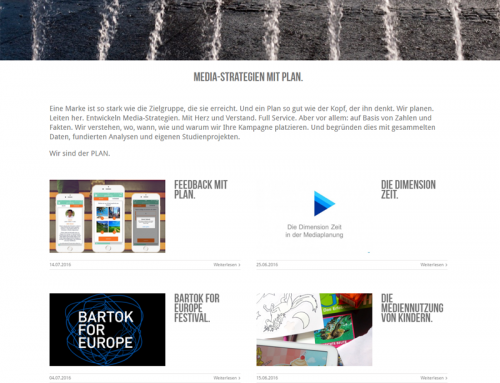 Website: PLAN Mediaagentur