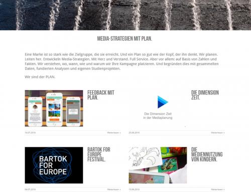 Website: PLAN Mediaagentur